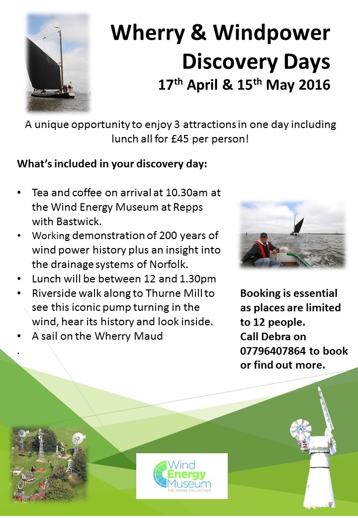 Wherry and Windpower Days | Wind Energy Museum