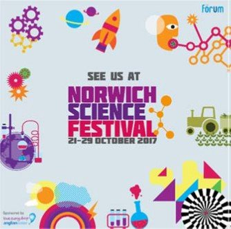 See us at Norwich Science Festival 21-28 October 2017